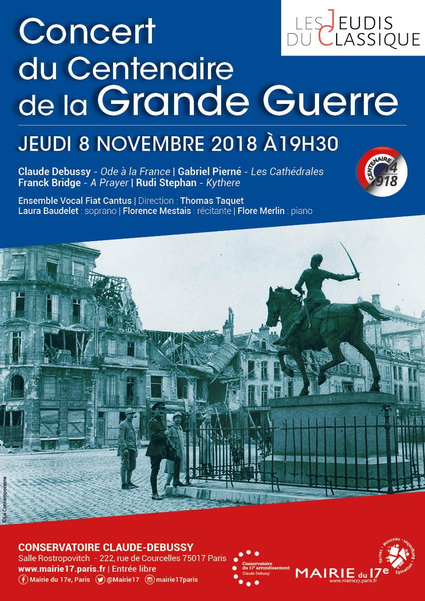 concert Grande Guerre 8/11